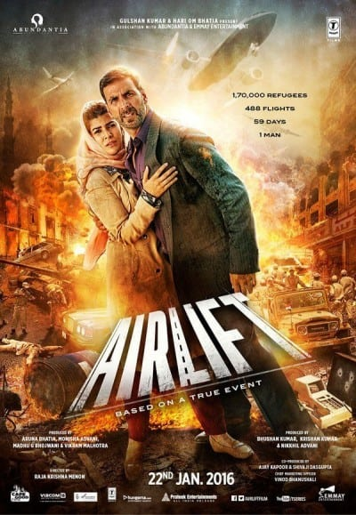 Airlift movie poster