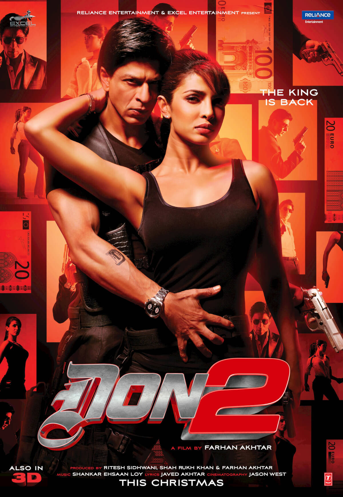 Don 2 2011 Hindi 1080p BluRay x264 DTS-HDMA 5.1 – Hon3yHD | 15 GB |