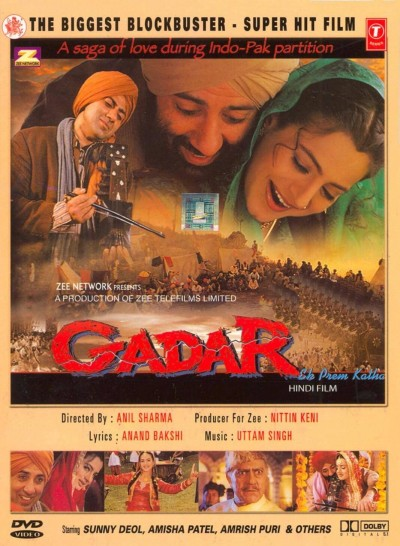 Gadar – Ek Prem Katha movie poster