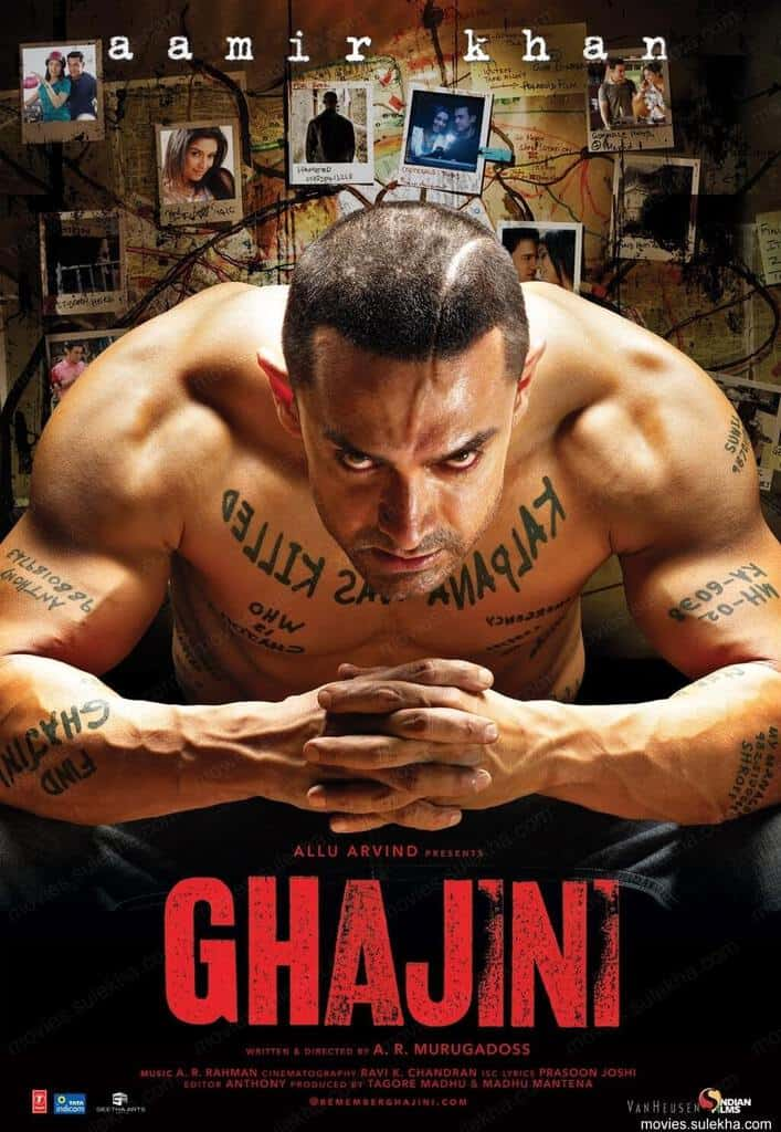 ghajini lifetime box office collection budget reviews