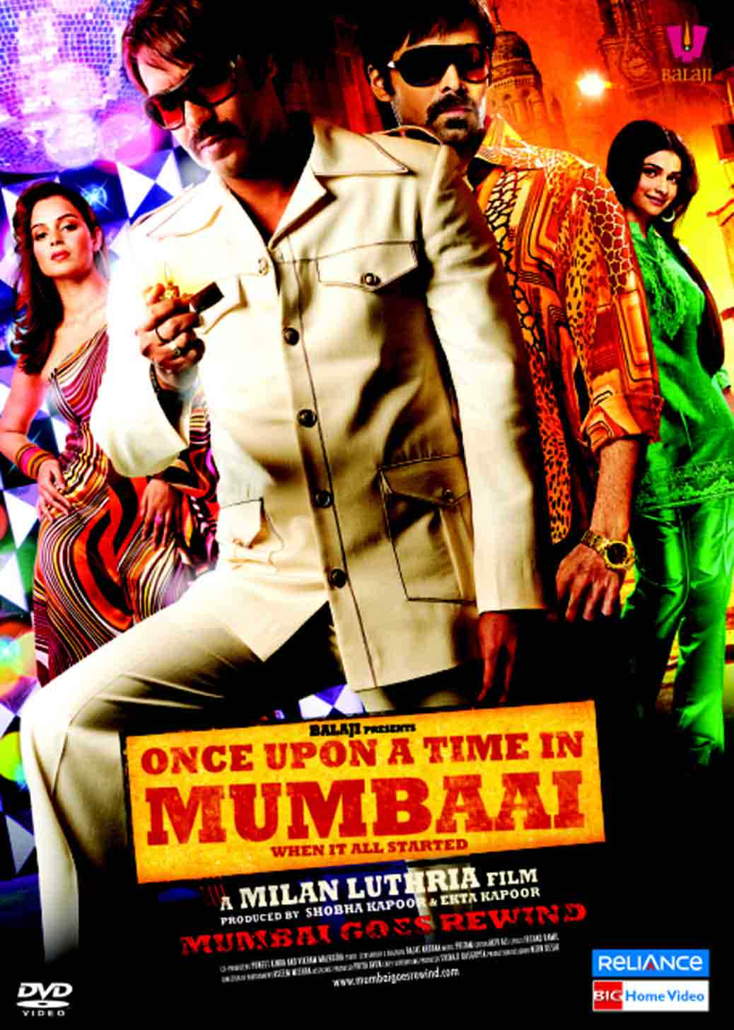 Once Upon a Time in Mumbai - Lifetime Box Office ...