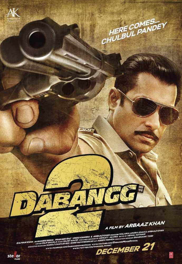 Dabangg 2 - Lifetime Box Office Collection, Budget ... Dabangg 2
