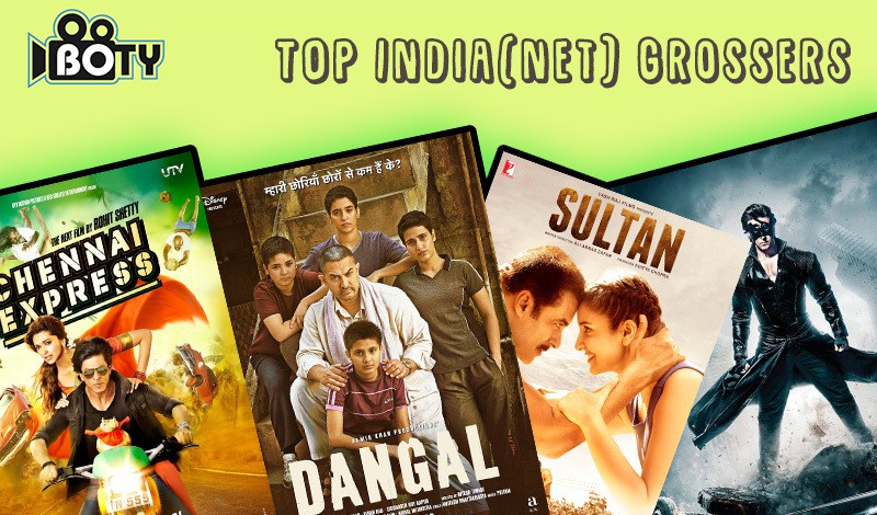 Top 25 highest grossing bollywood movies of all time boty - Classement film box office ...