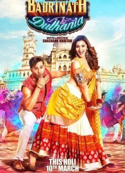Badrinath Ki Dulhania movie poster