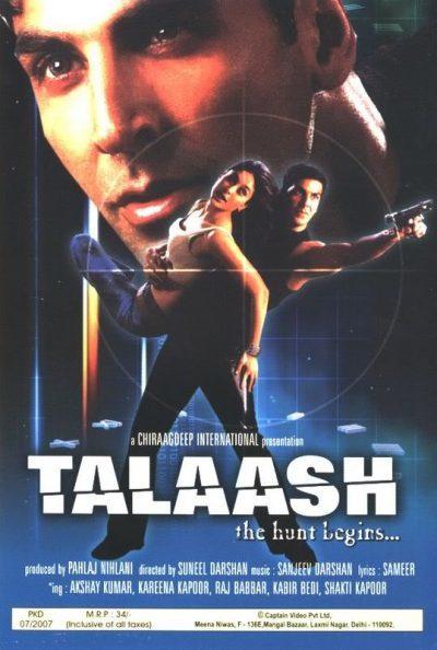Talaash – The Hunt Begins movie poster