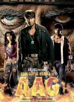 Ram Gopal Varma Ki Aag movie poster
