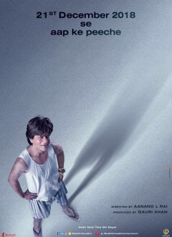 Zero movie poster