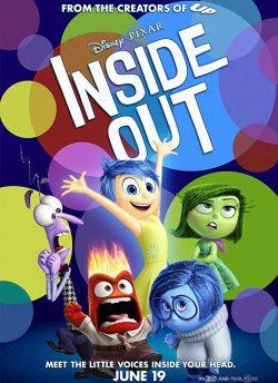 इनसाइड आउट movie poster