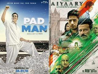 Aiyaary vs. Padman