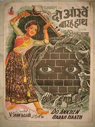 Do Aankhen Barah Haath movie poster