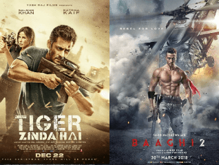 Day Wise Box Office comparison between Tiger Zinda Hai vs Baaghi 2